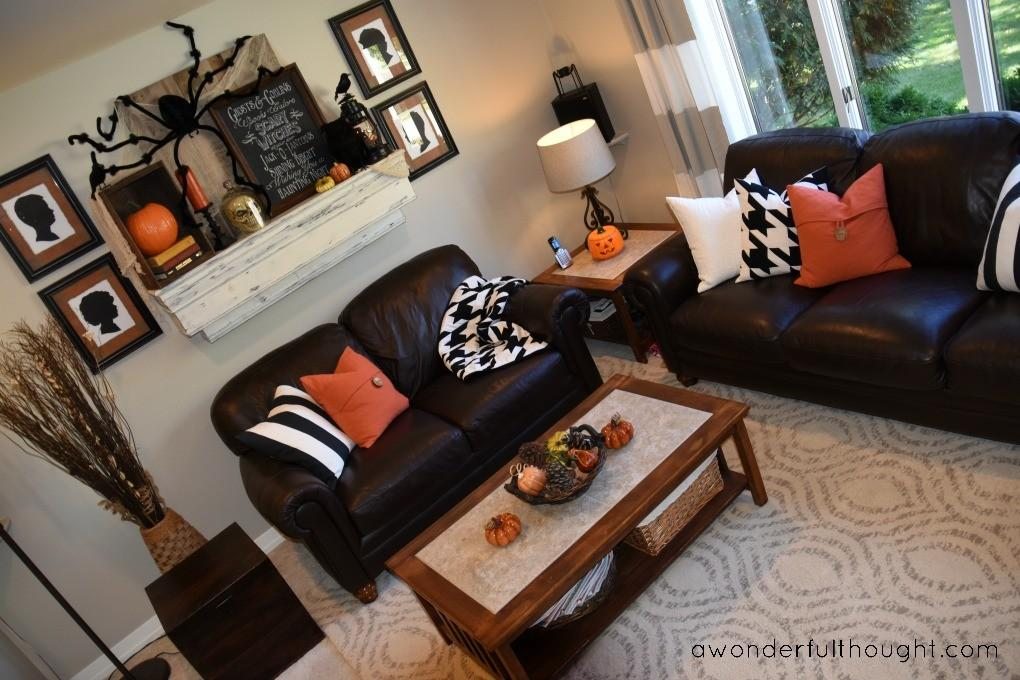 Halloween Living Room Wonderful Thought