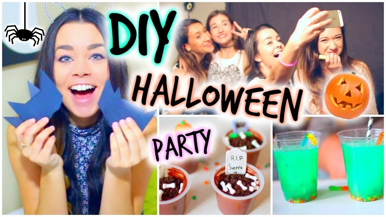 Halloween Party Diy Treats Decor Activities