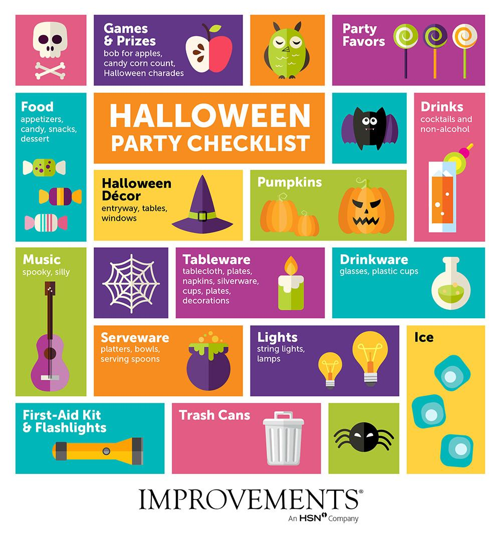 Halloween Party Ideas Checklist Keep Track