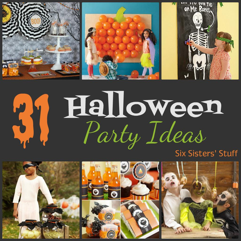 Halloween Party Ideas Six Sisters Stuff