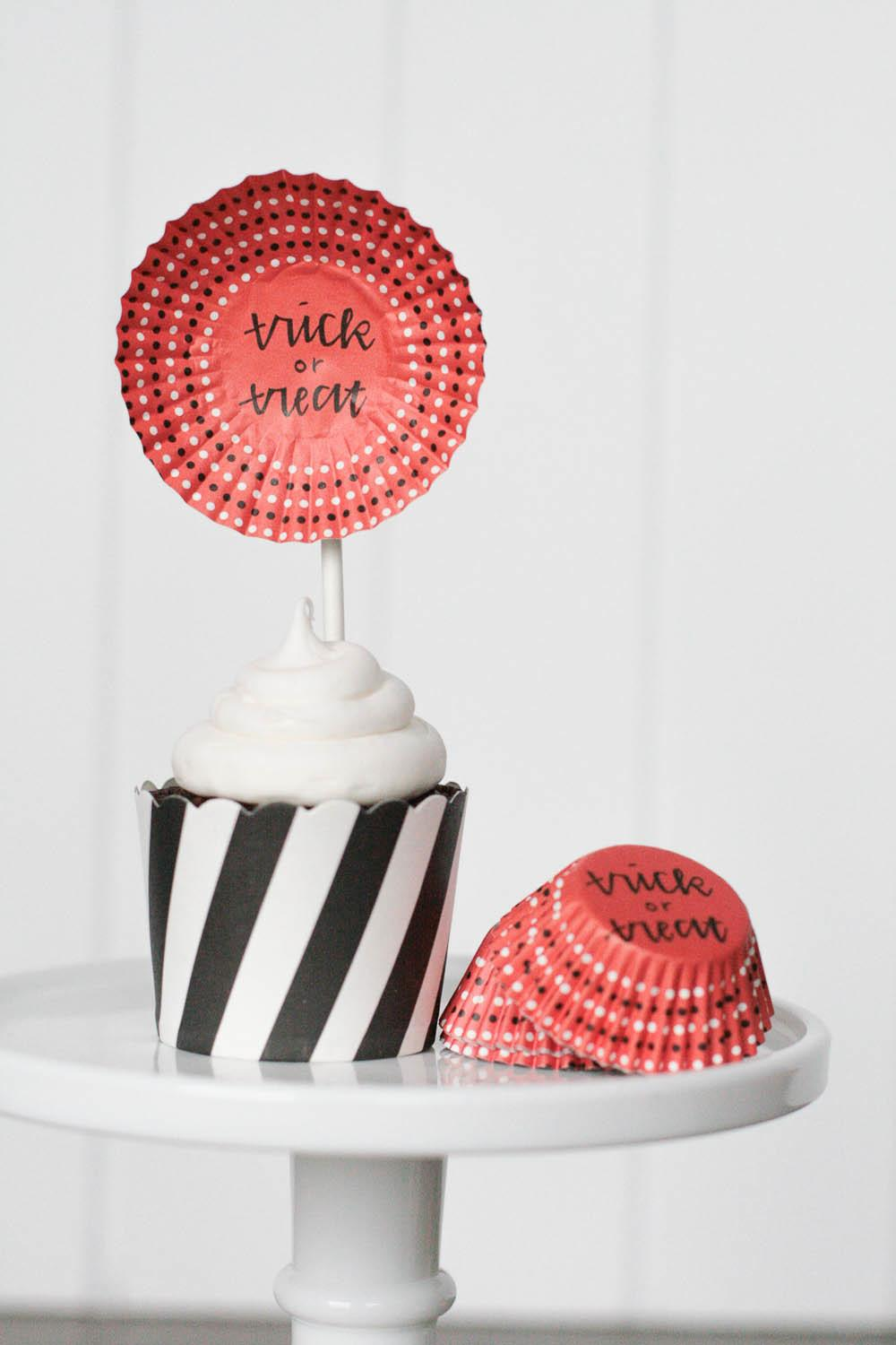 Halloween Party Kit Giveaway Easy Cupcake Toppers