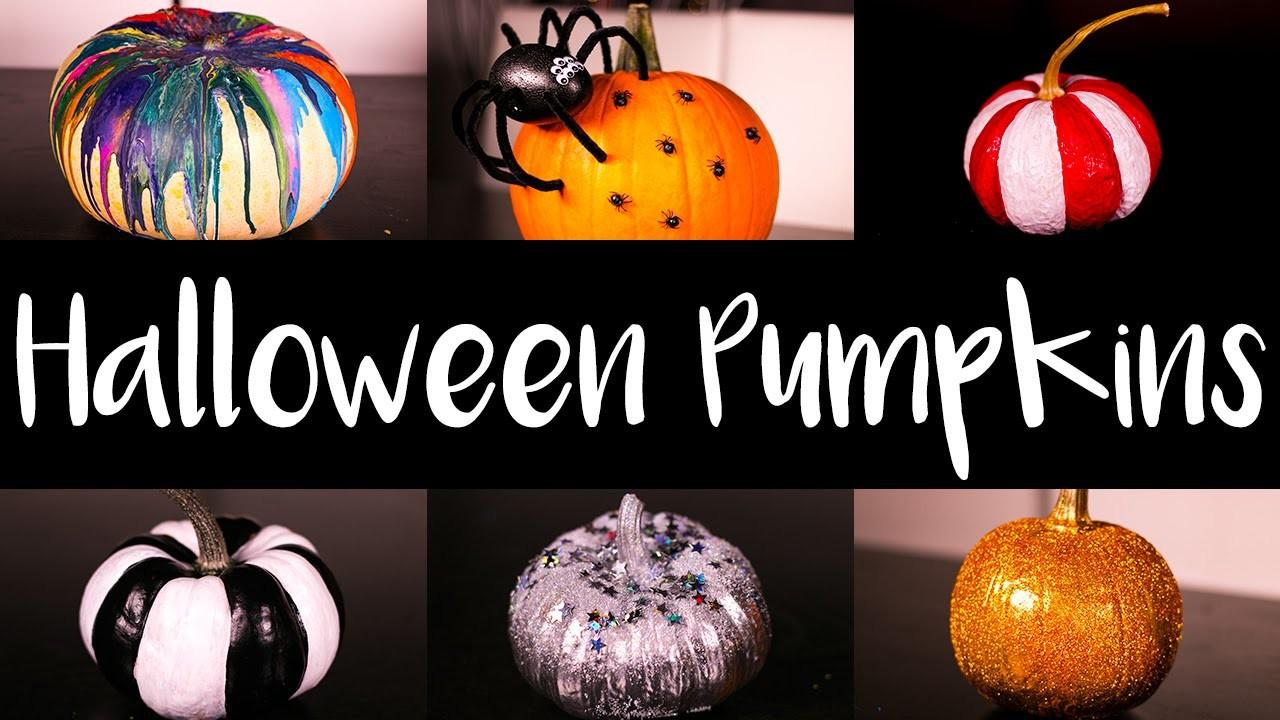 Halloween Pumpkin Decorating Ideas Diy