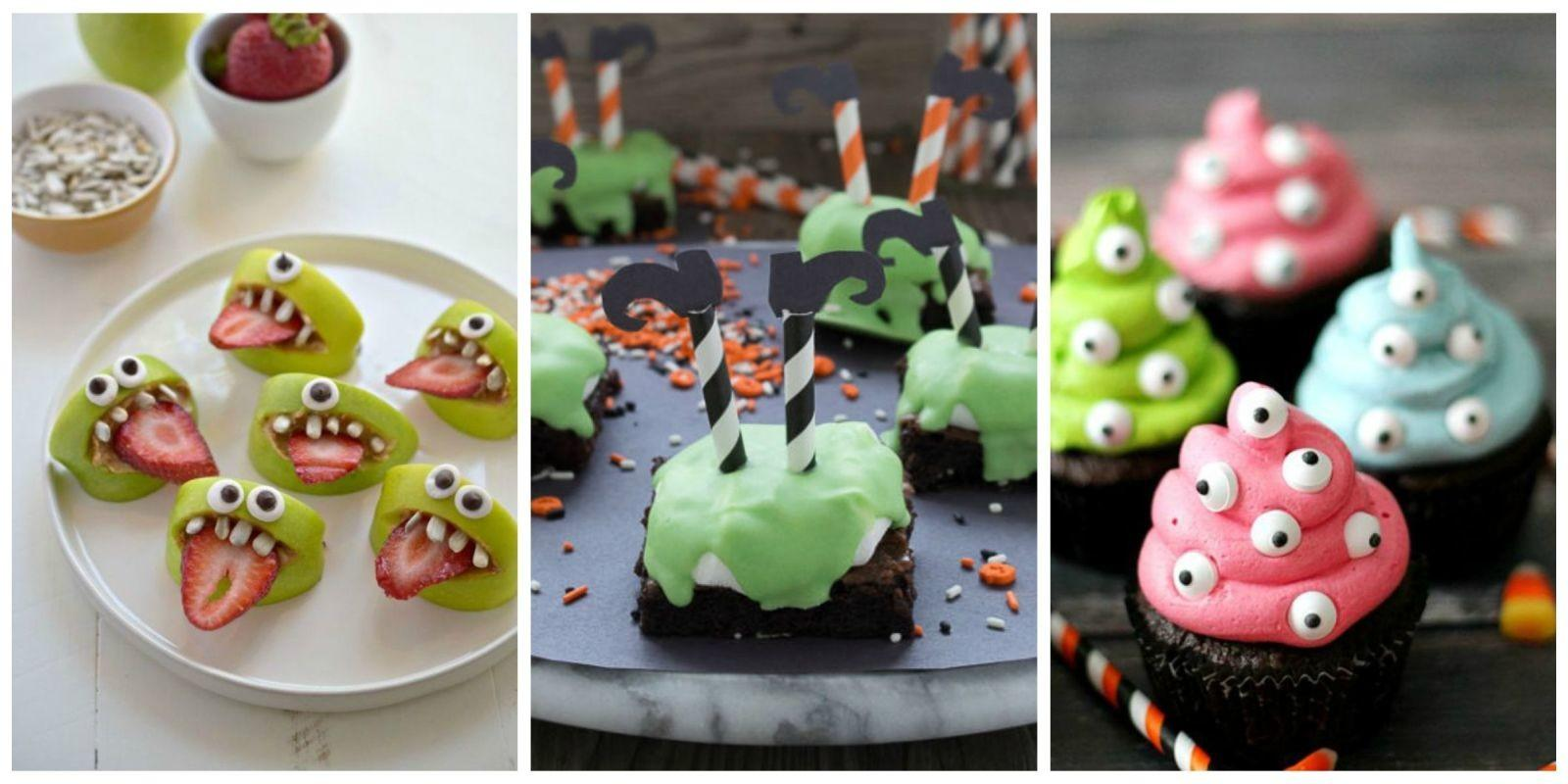 Halloween Snacks Kids Recipes Childrens