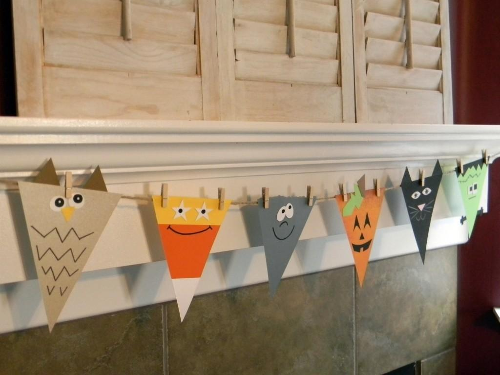 Halloween Spook Banner Fun Family Crafts