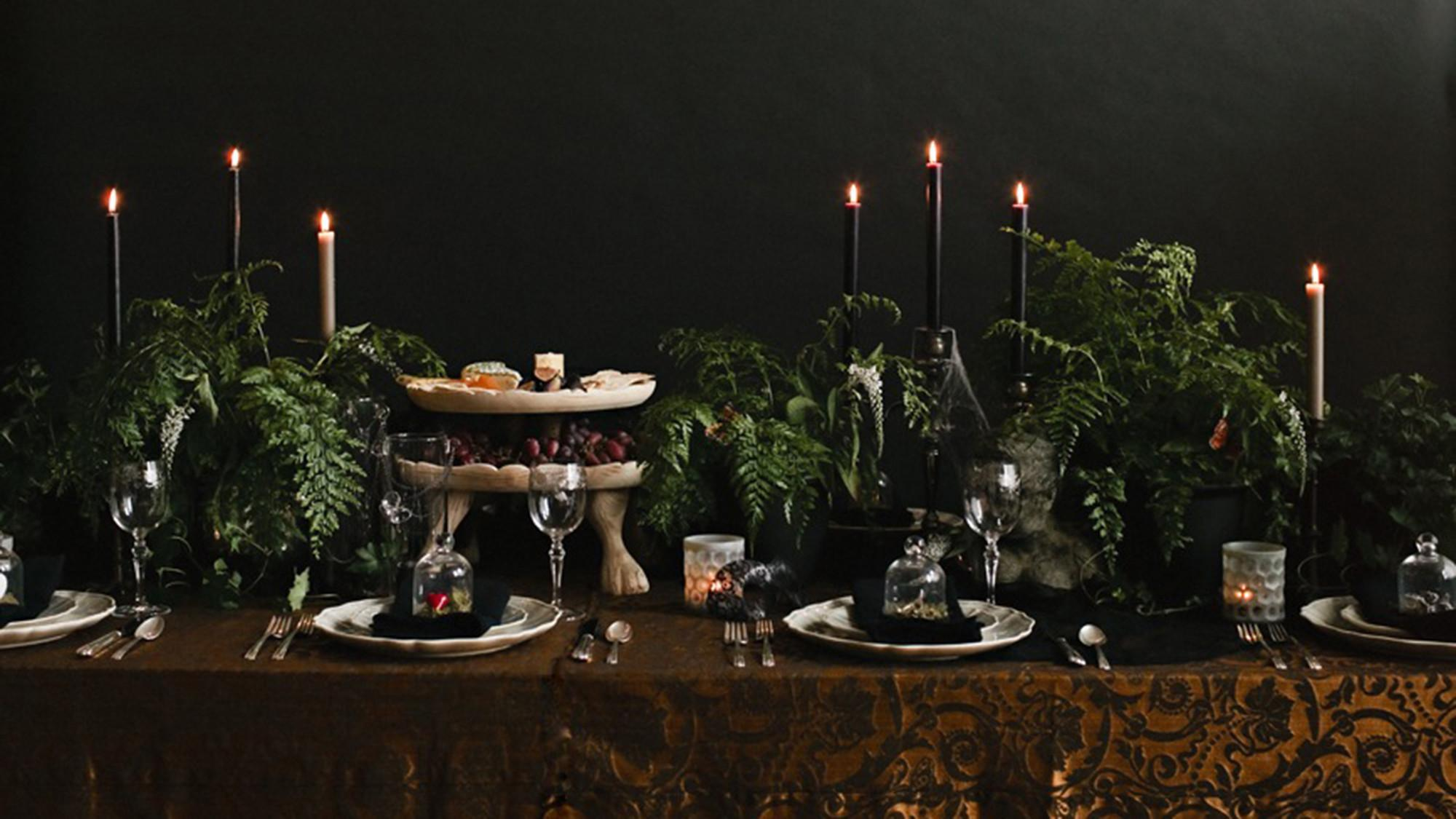 Halloween Tablescapes Haunting Charm