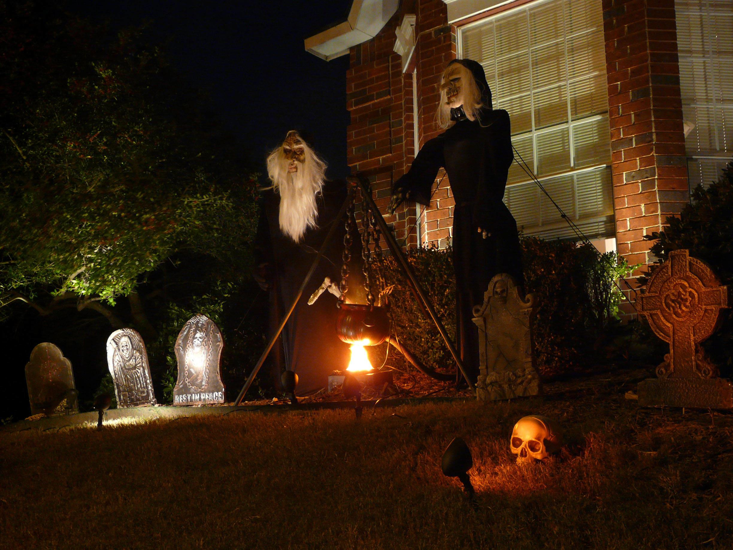 Halloween Witch Decorations Outdoors