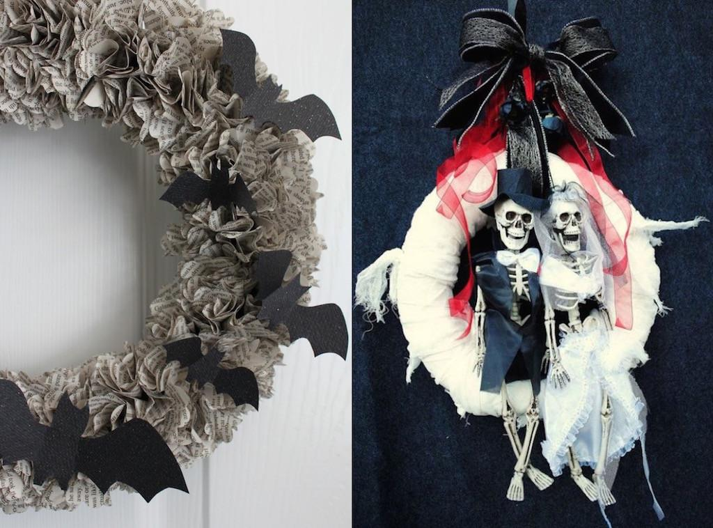 Halloween Wreath Decor Ideas Love Feed Inspiration