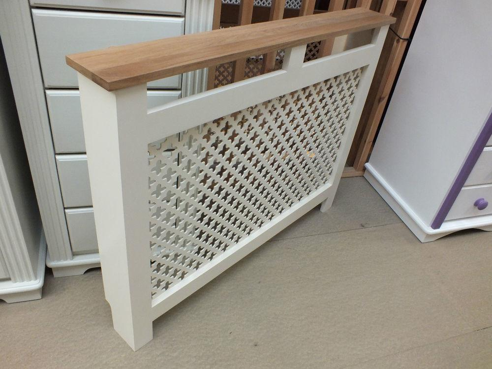 Hampshire Painted Radiator Cover Solid Pine Oak