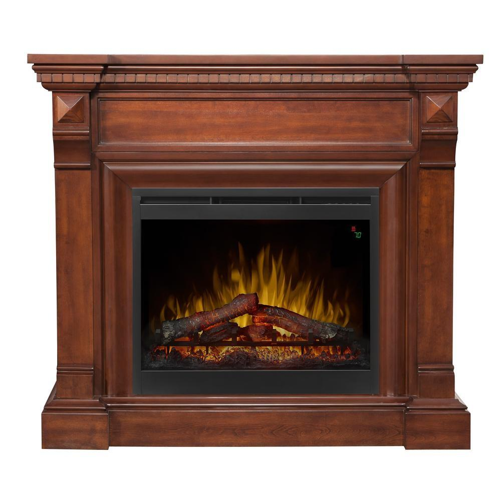Hampton Bay Ansley Rolling Mantel Infrared Electric