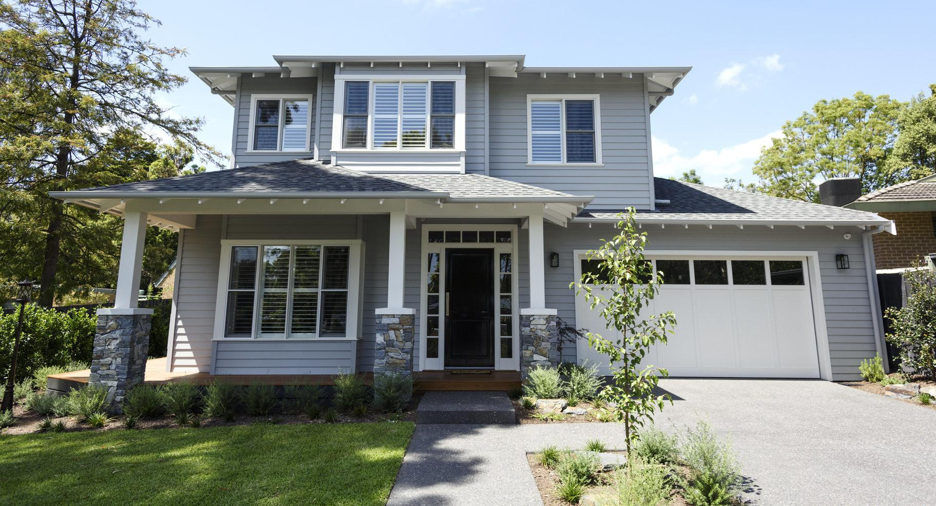 Hampton Style Homes Melbourne Weatherboard Home Builders