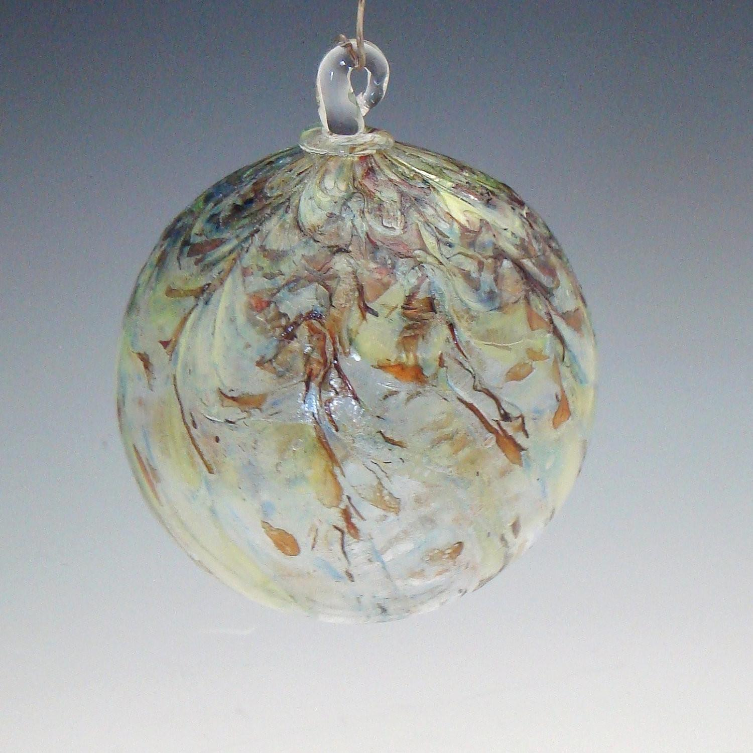 Hand Blown Glass Holiday Christmas Ornaments