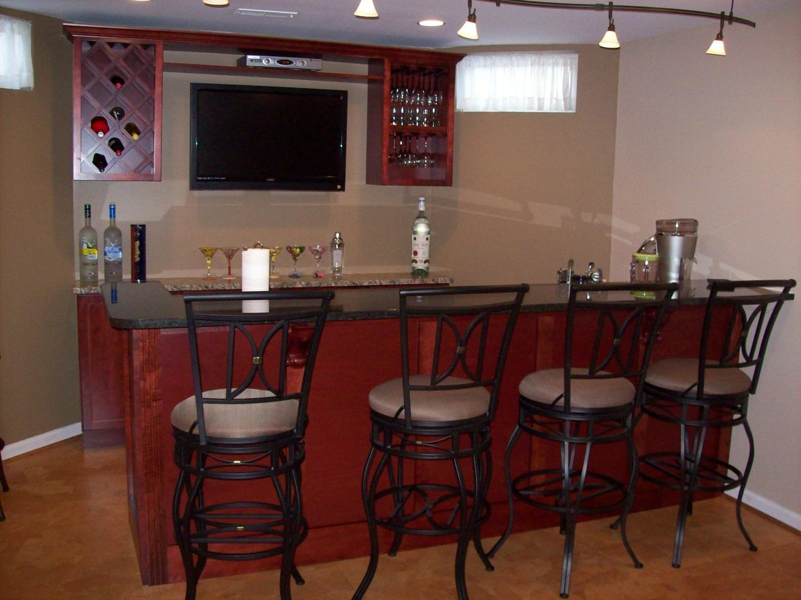 Hand Crafted Basement Bar Sdg Home Solutions