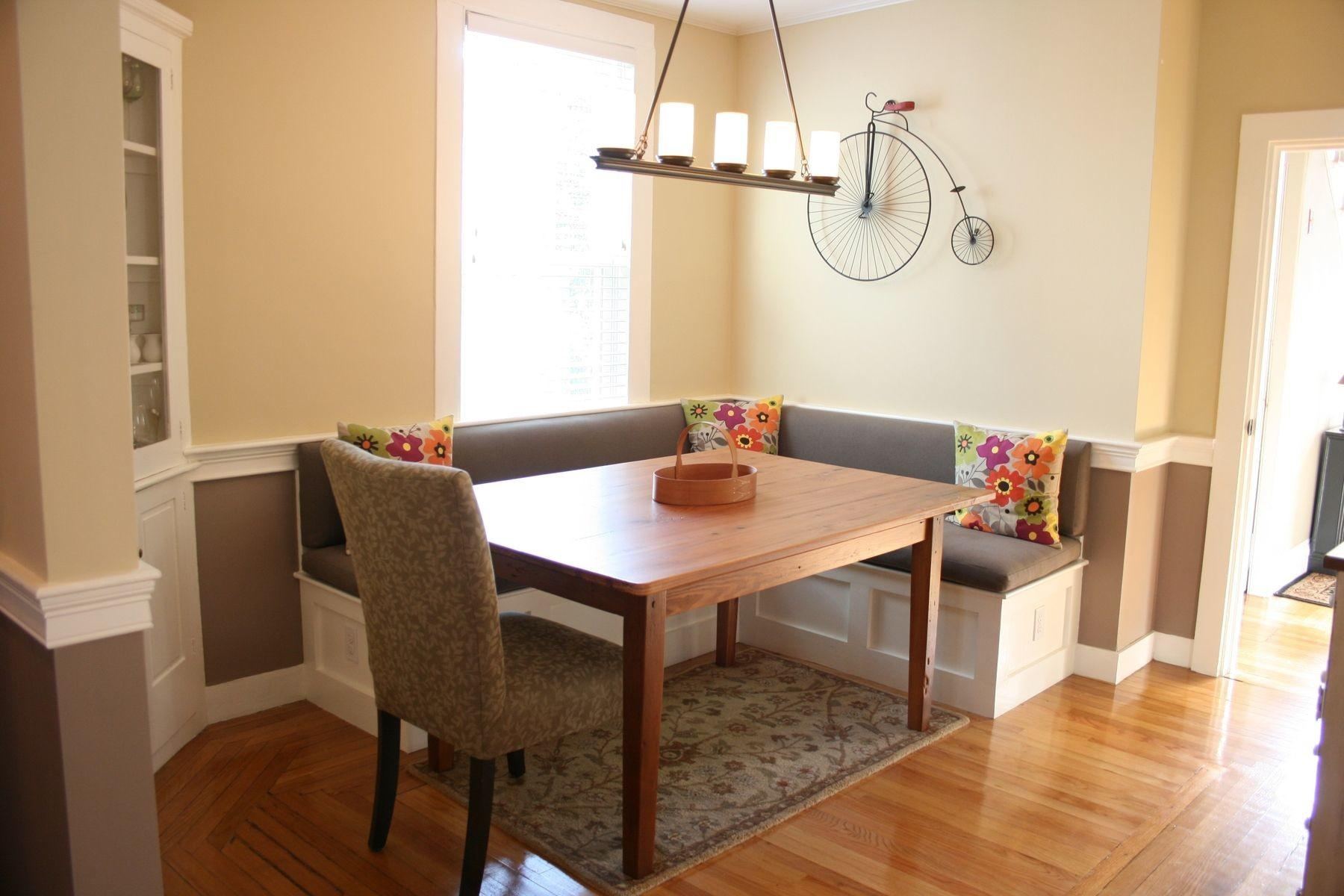 Hand Crafted Custom Banquette Seating Interior Design
