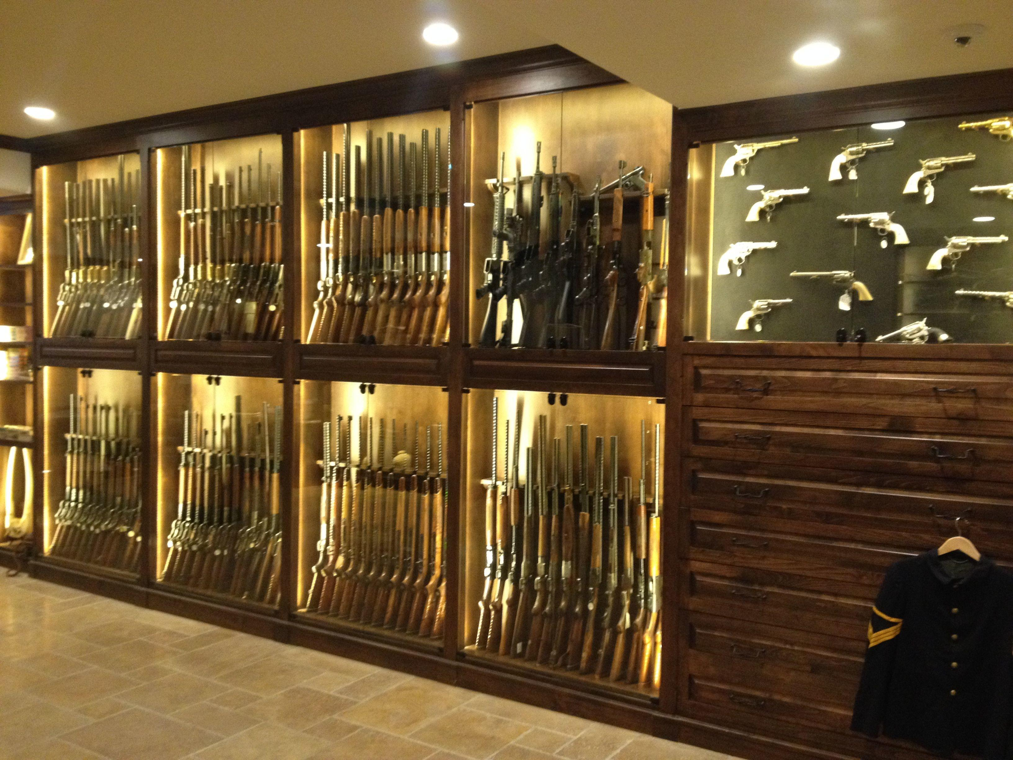 Hand Crafted Gun Room Cabinetry Enoch Choi Design