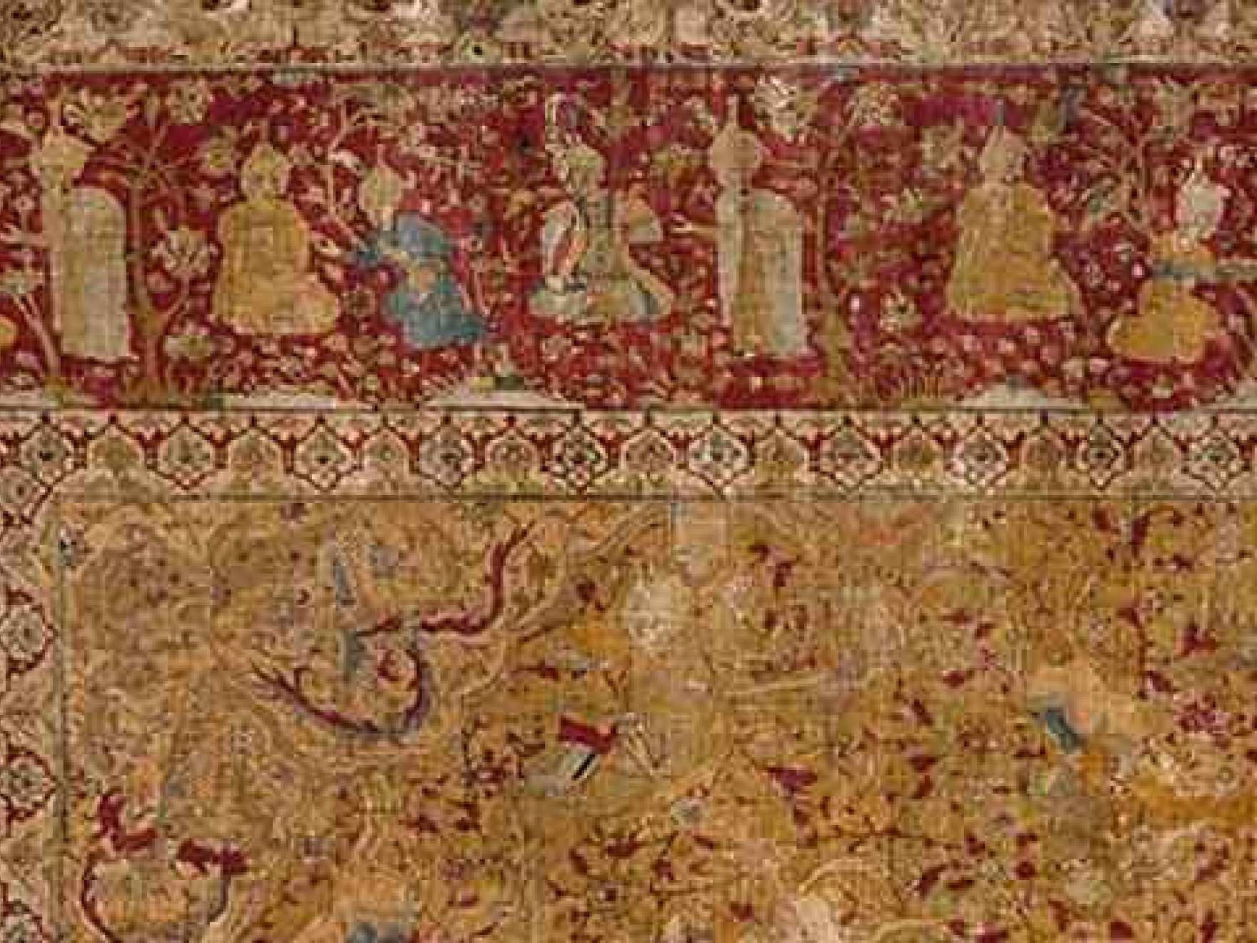 Hand Knotted Persian Carpet Traditional