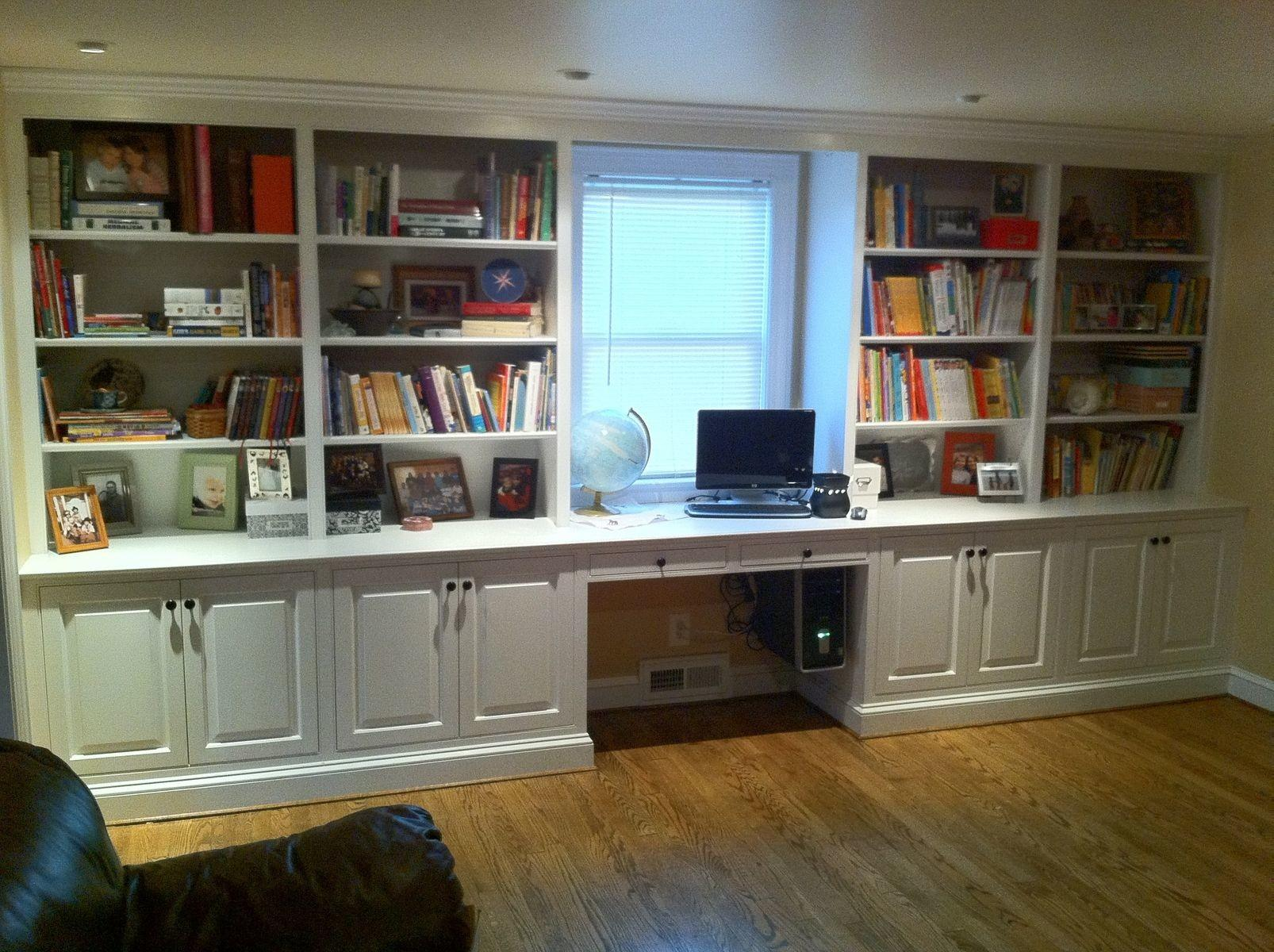 Hand Made Built Bookcase Woodworking