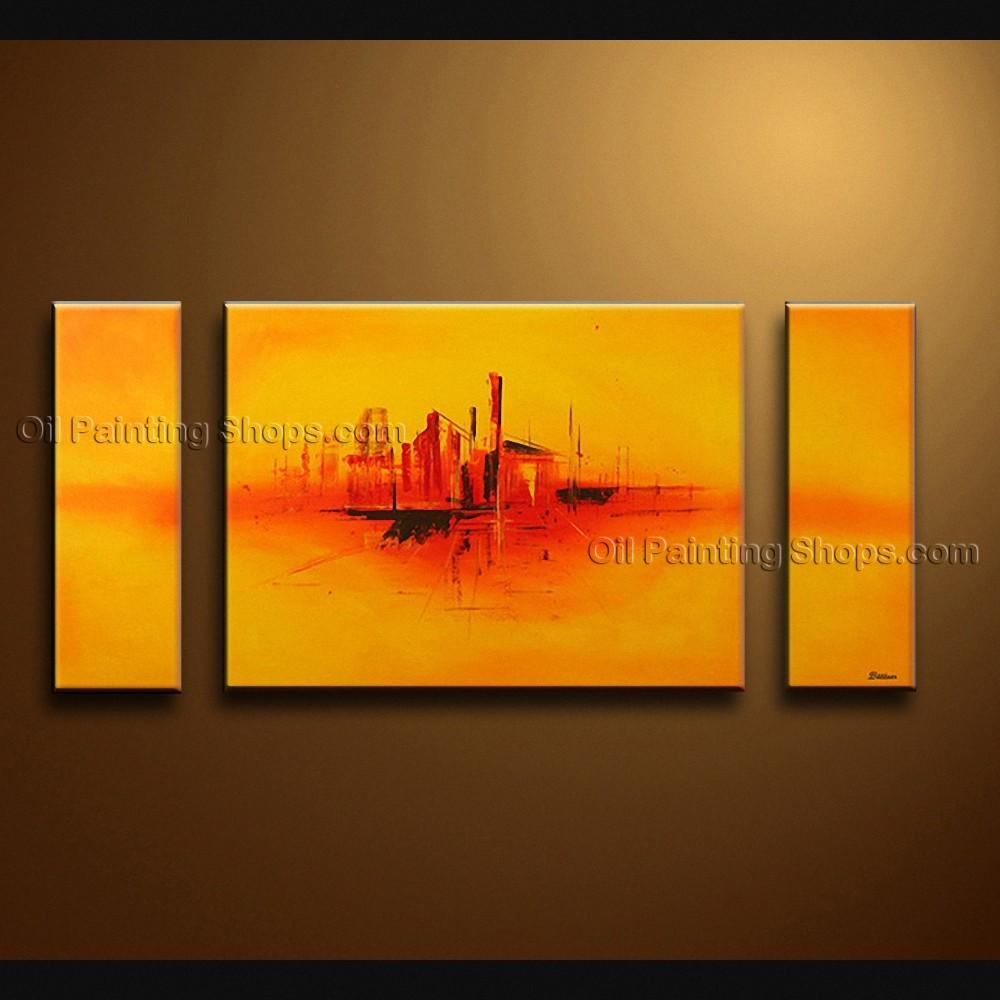 Hand Painted Beautiful Modern Abstract Painting Wall Art