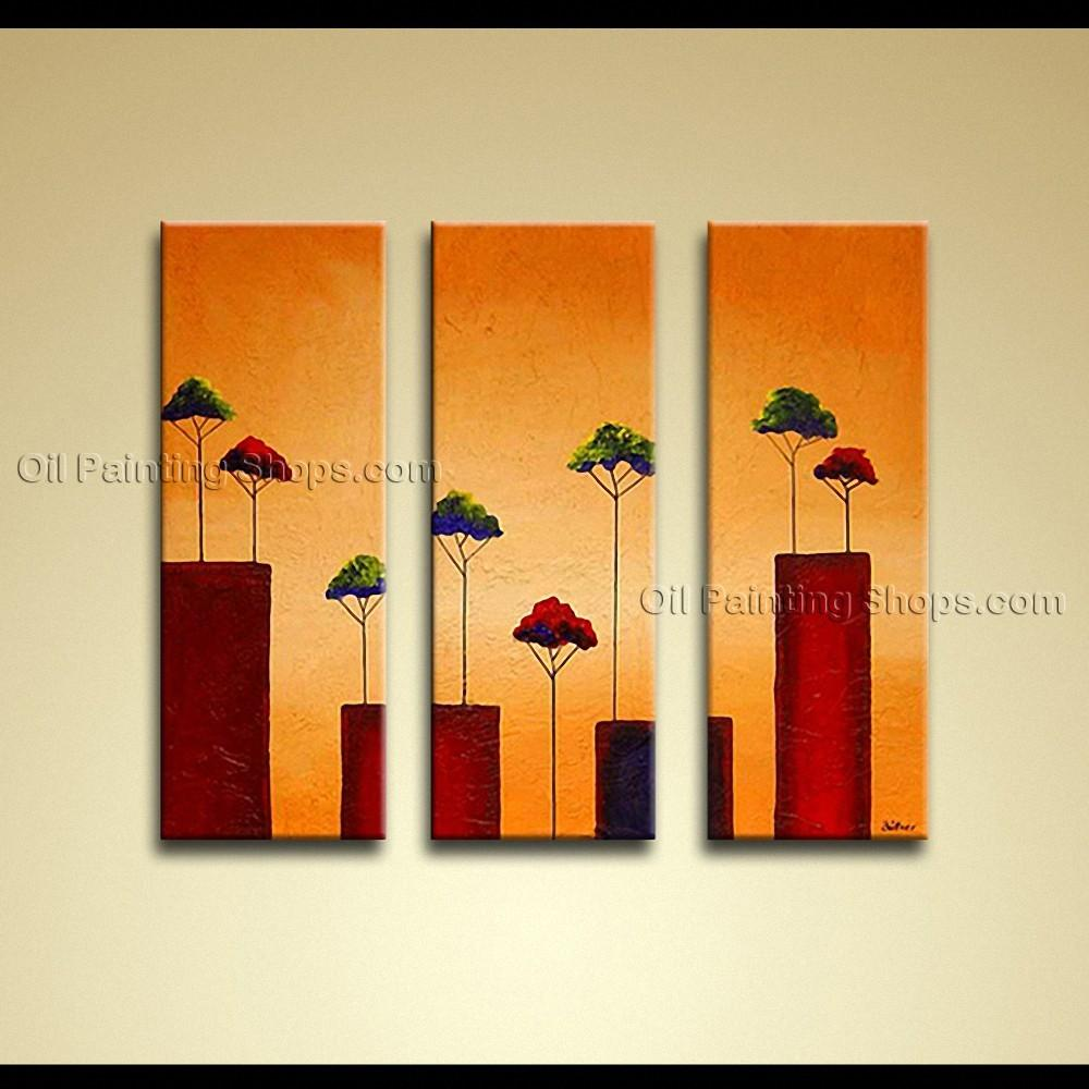 Hand Painted Elegant Modern Abstract Painting Wall Art