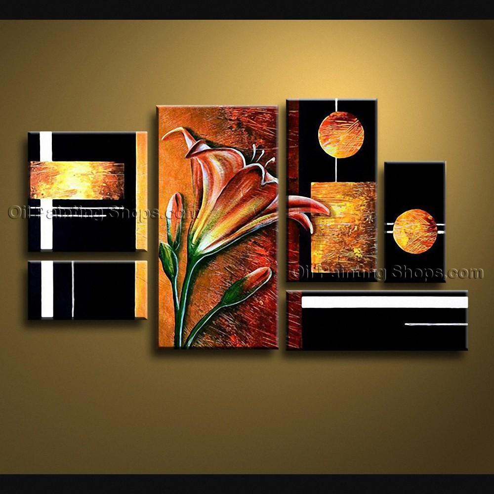 Hand Painted Huge Modern Abstract Painting Wall Art Artist
