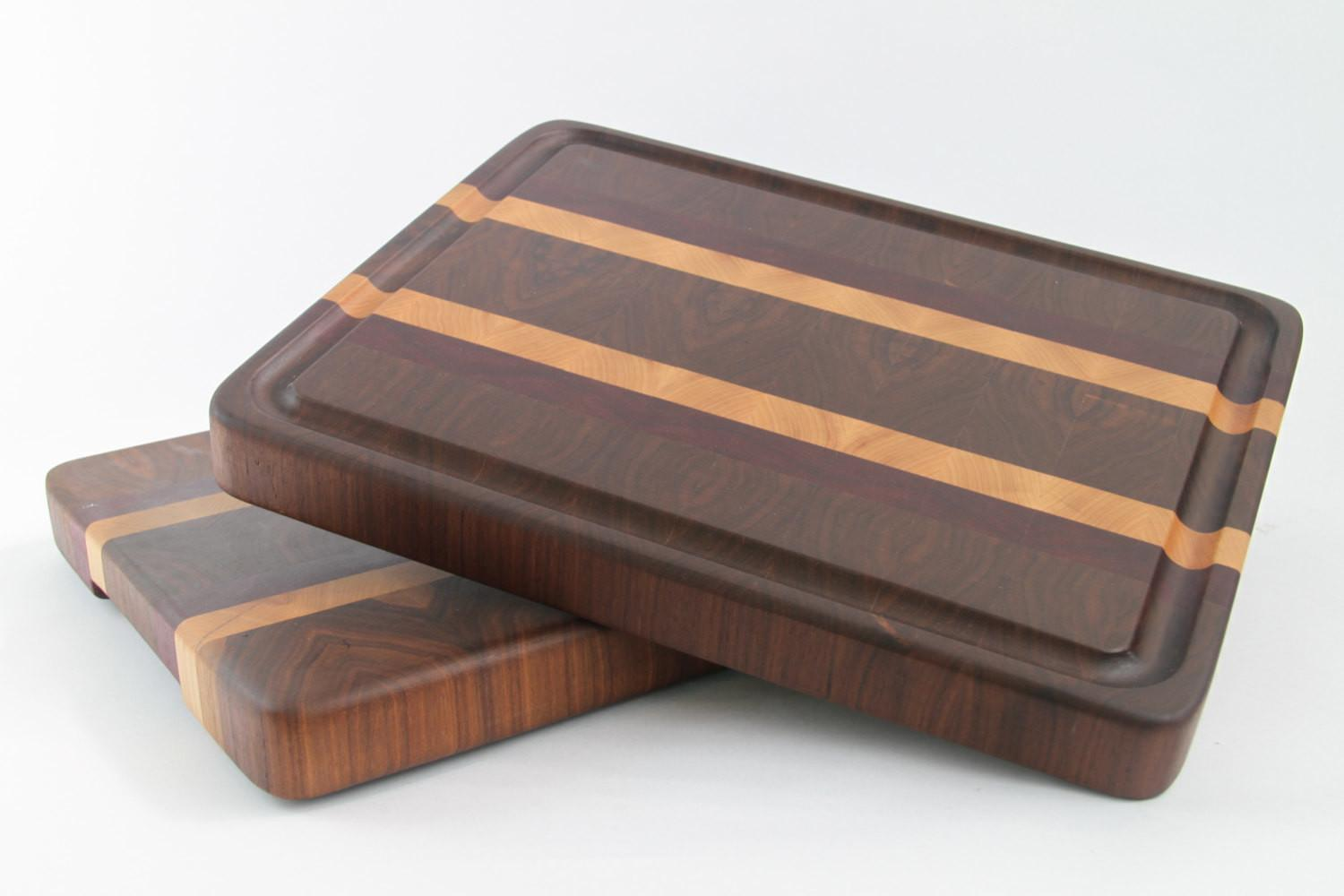 Handcrafted Wood Cutting Board End Grain Maple