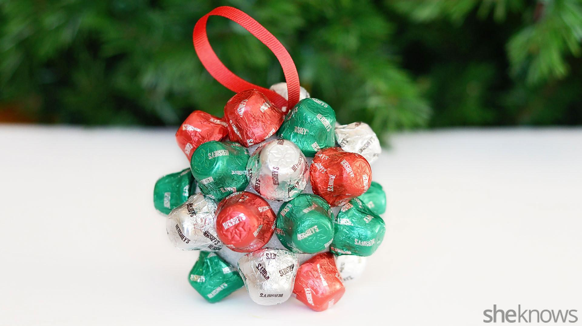 Handmade Beaded Christmas Ornaments Homemade Tree Clipgoo