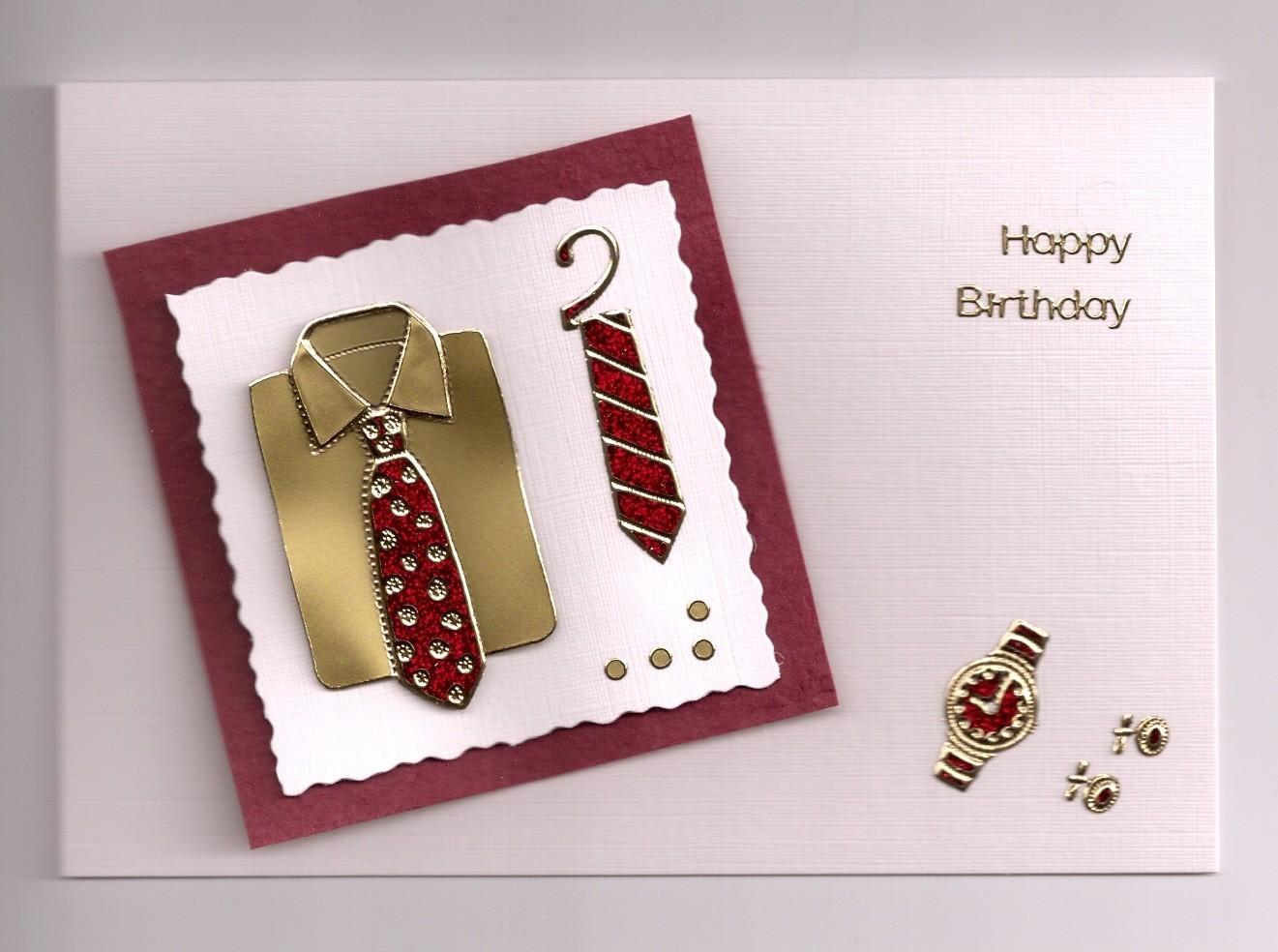 Handmade Birthday Cards Men Let Celebrate
