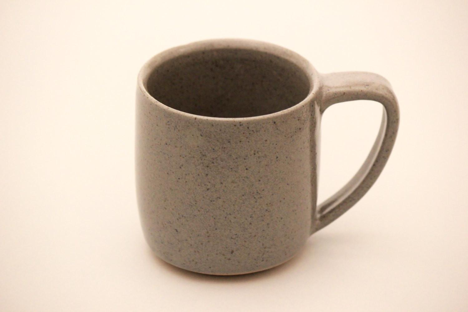 Handmade Ceramic Mug Coffee Brownstone