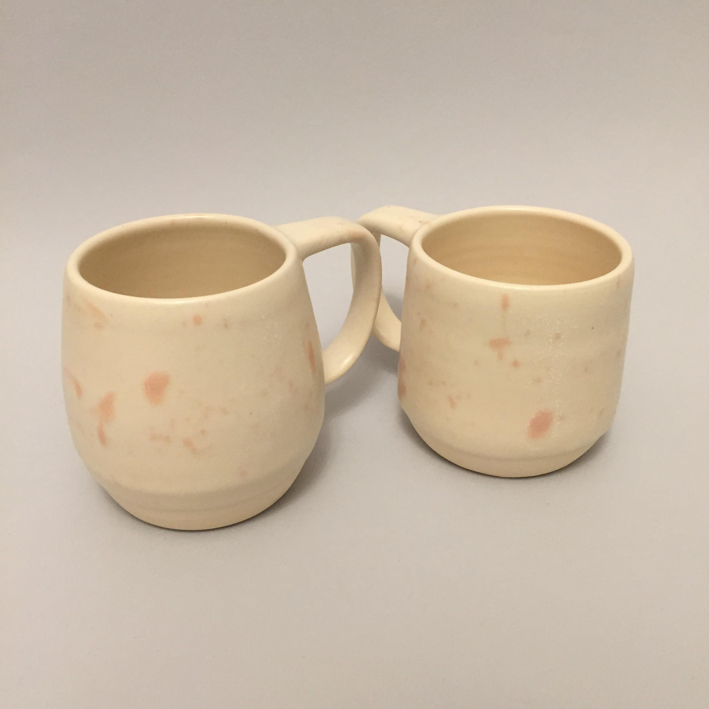 Handmade Ceramic Mug Coffee Splatter