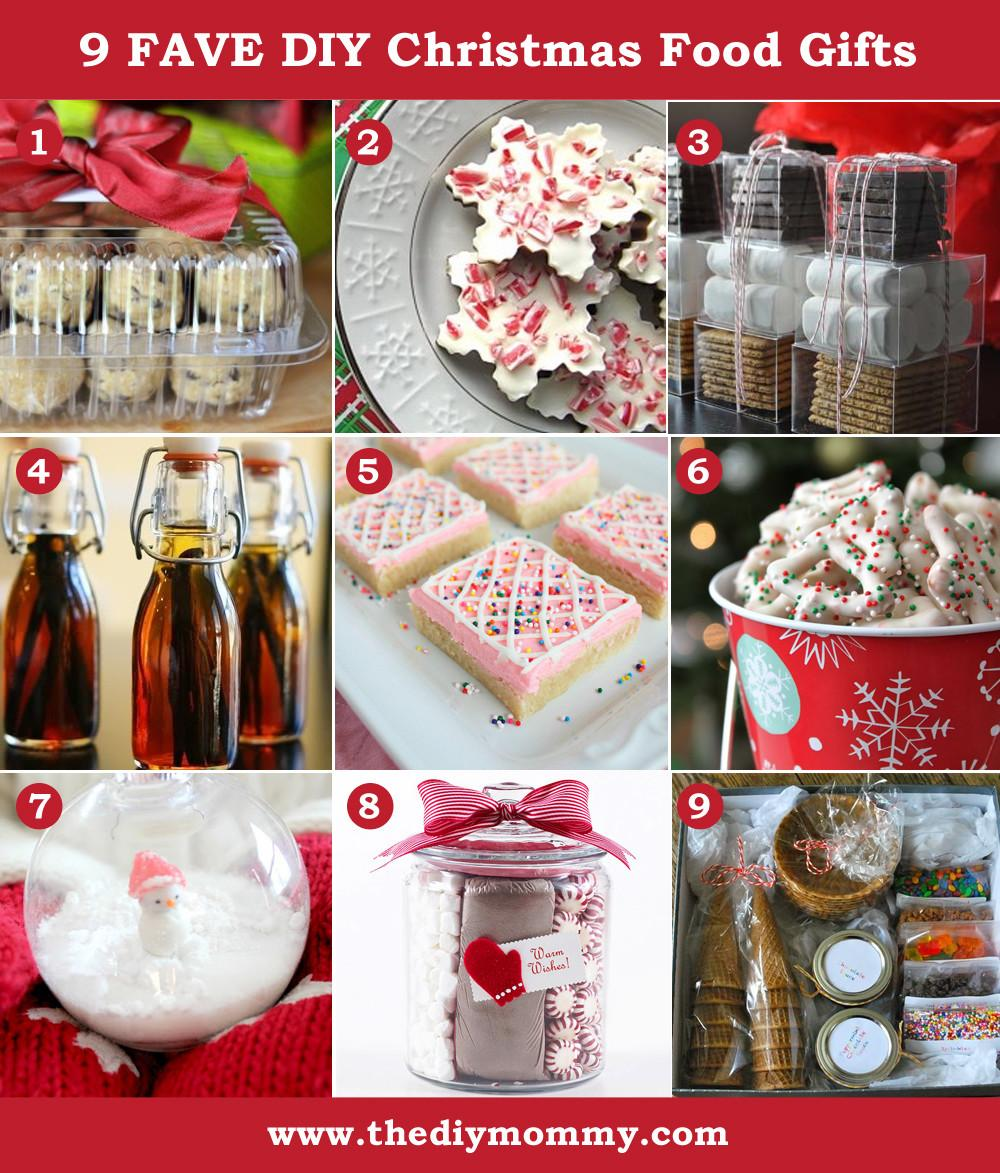 Handmade Christmas Diy Food Gifts Mommy