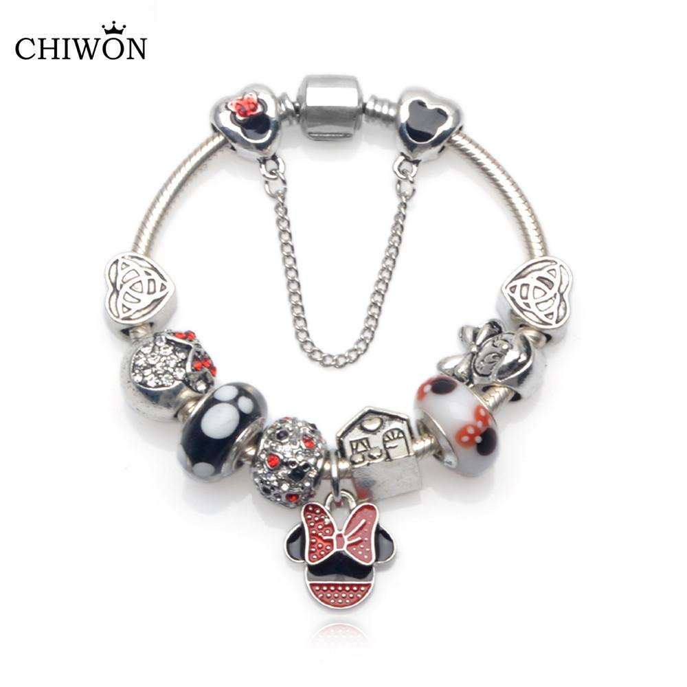 Handmade Cute Children Mickey Charms Fit Europe United