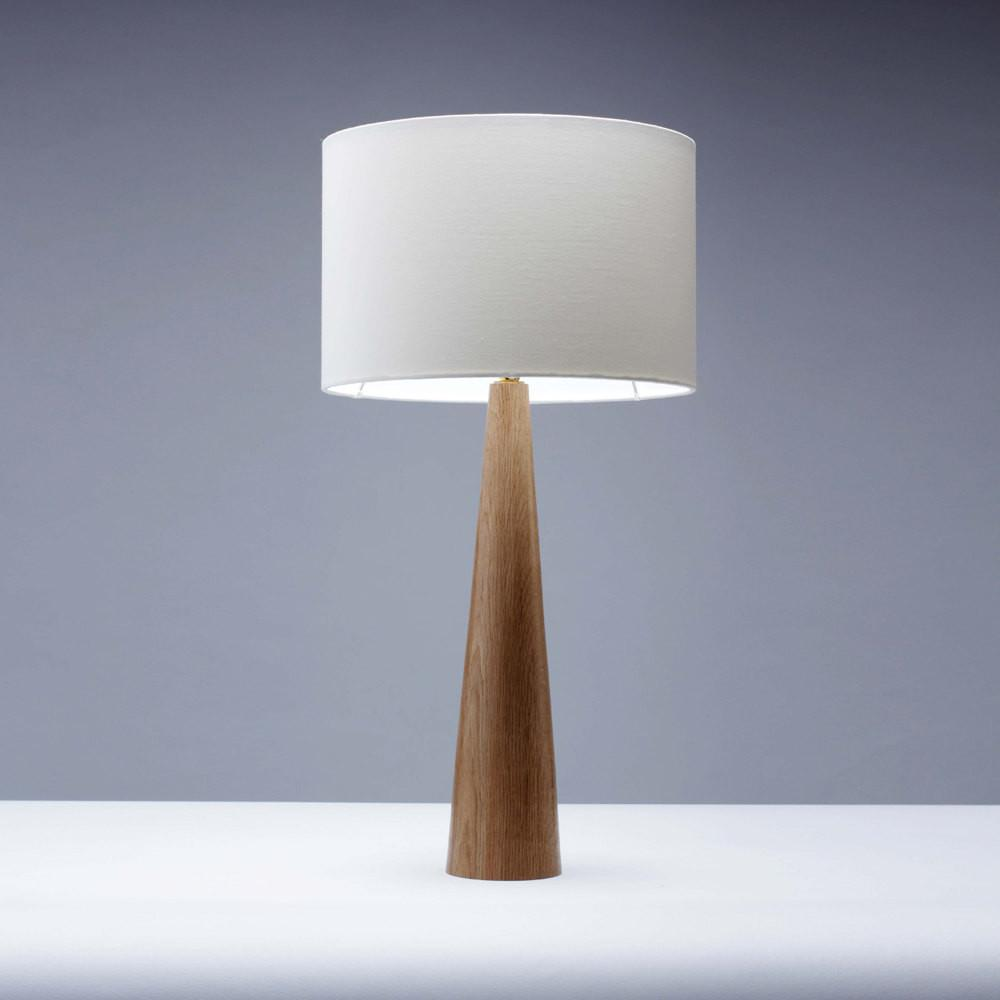 Handmade Oak Wooden Table Lamp 45cm Homeandkitchen Etsy