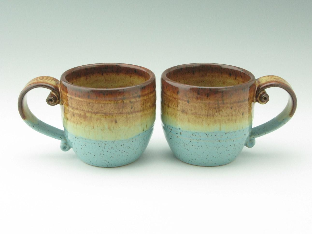Handmade Pottery Mug Stoneware Coffee Twistedriverclay