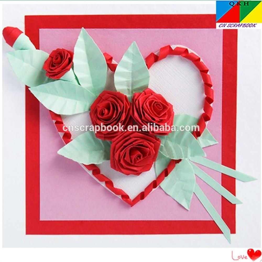 Handmade Quilling Paper Art Diy Birthday Cards