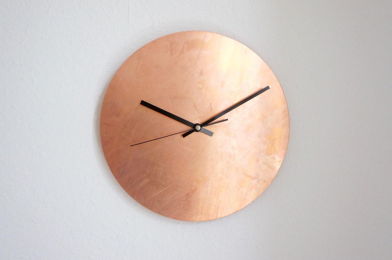 Handmade Wall Clocks Etsy Hunting