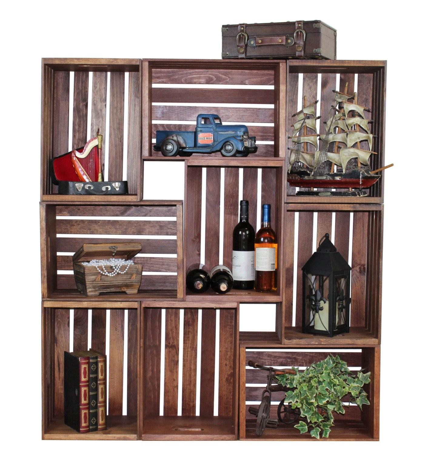 Handy Diy Projects Old Wooden Crates Style