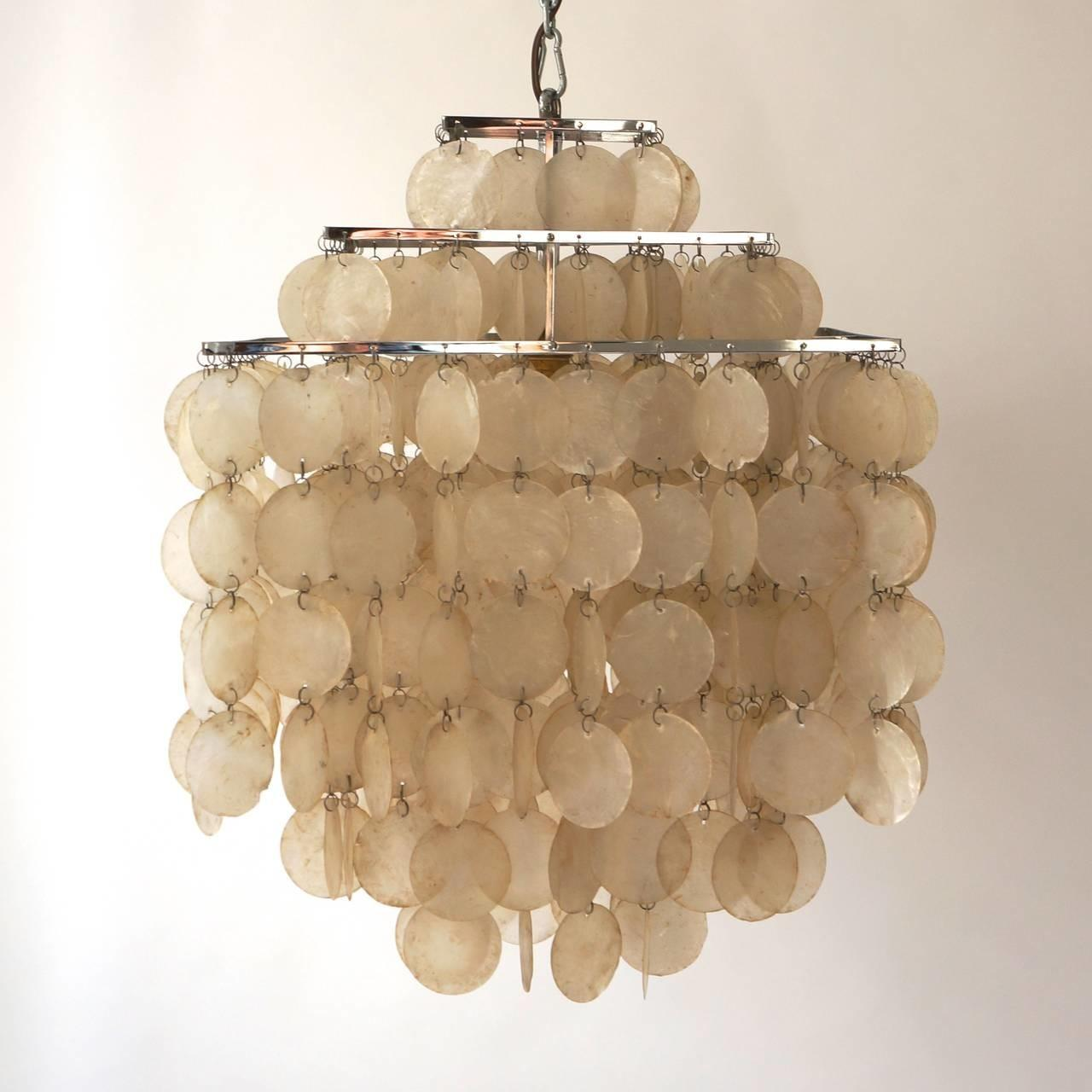 Hang Capiz Shell Chandelier Best Home Decor Ideas