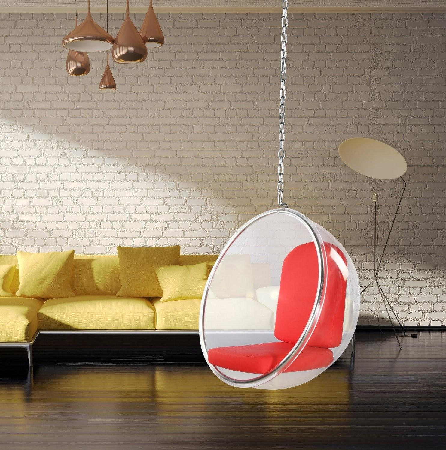 Hanging Bubble Chair Minimalistic Style Your Home