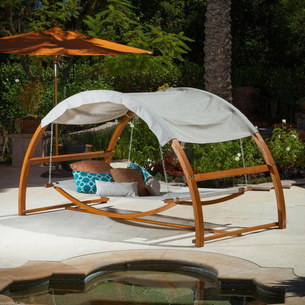 Hanging Canopy Bed Modern Outdoor Furniture Patio Hang