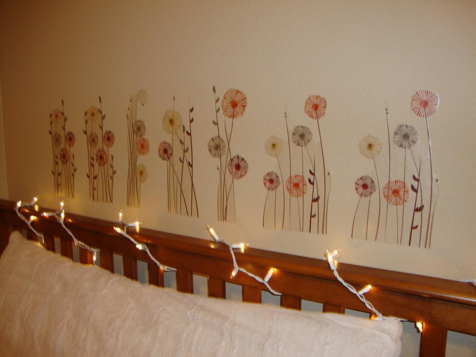 Hanging Christmas Lights Room Ideas Also