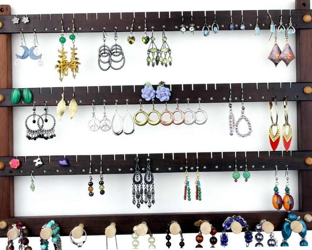 Hanging Jewelry Organizer Diy Home Design Ideas
