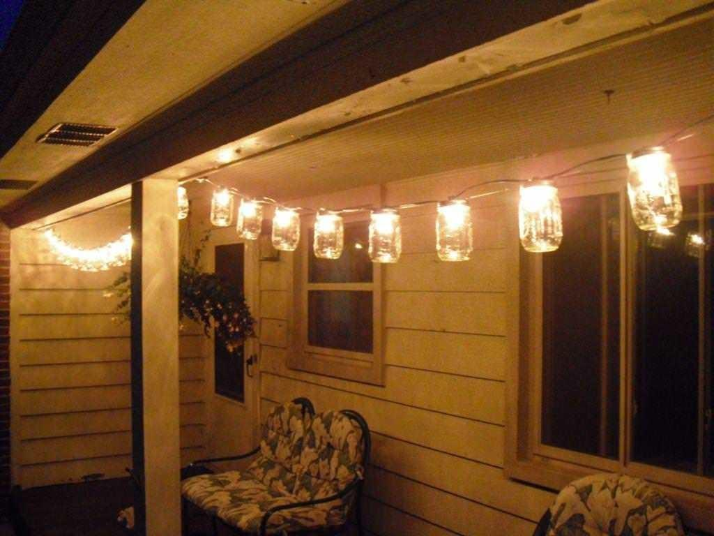 Hanging Patio Light Strings Party Outdoor Decoration