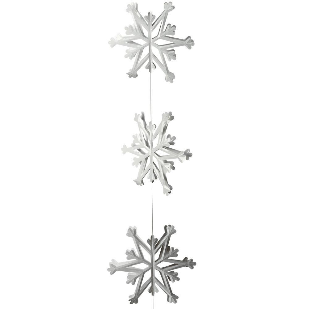 Hanging Snowflake Decoration Peeks