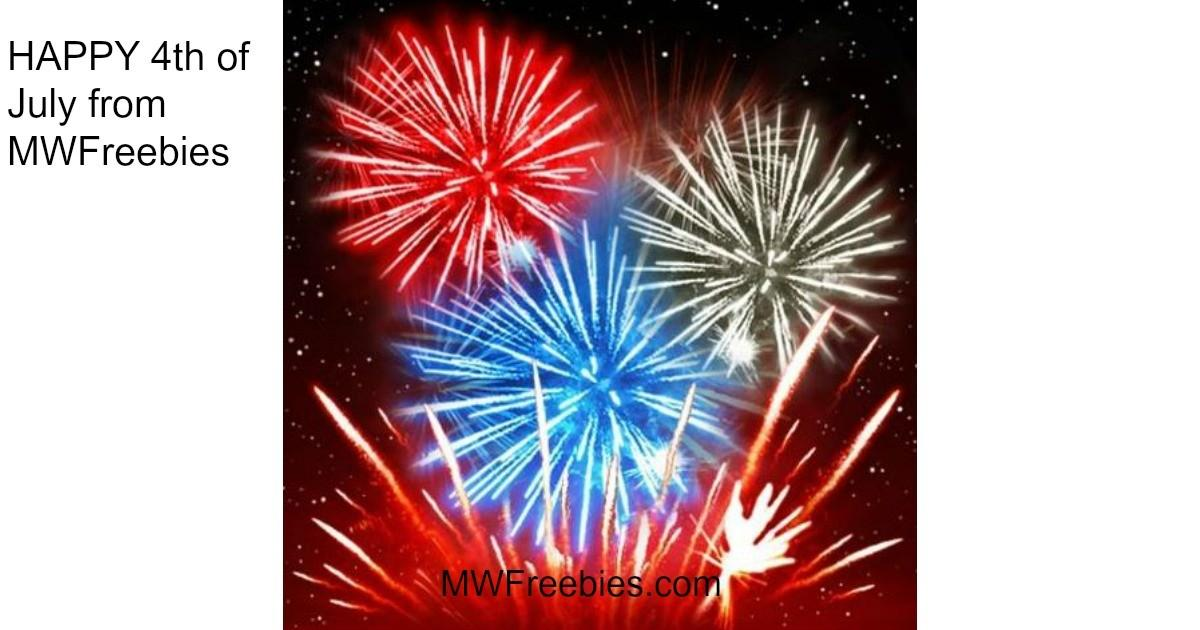 Happy 4th July Mwfreebies