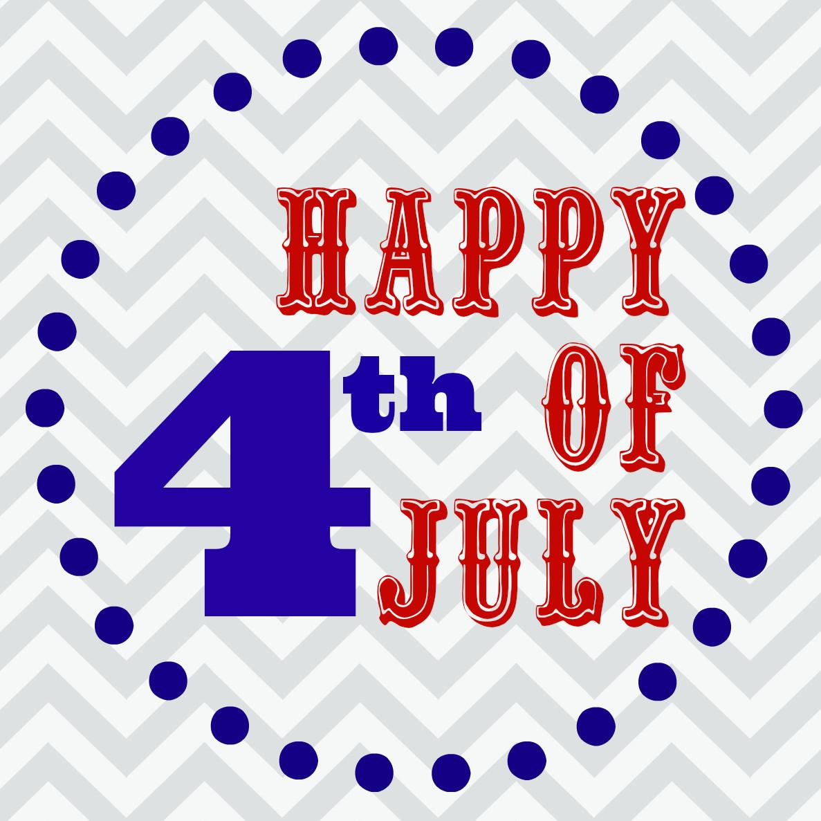 Happy 4th July Wishes Greetings