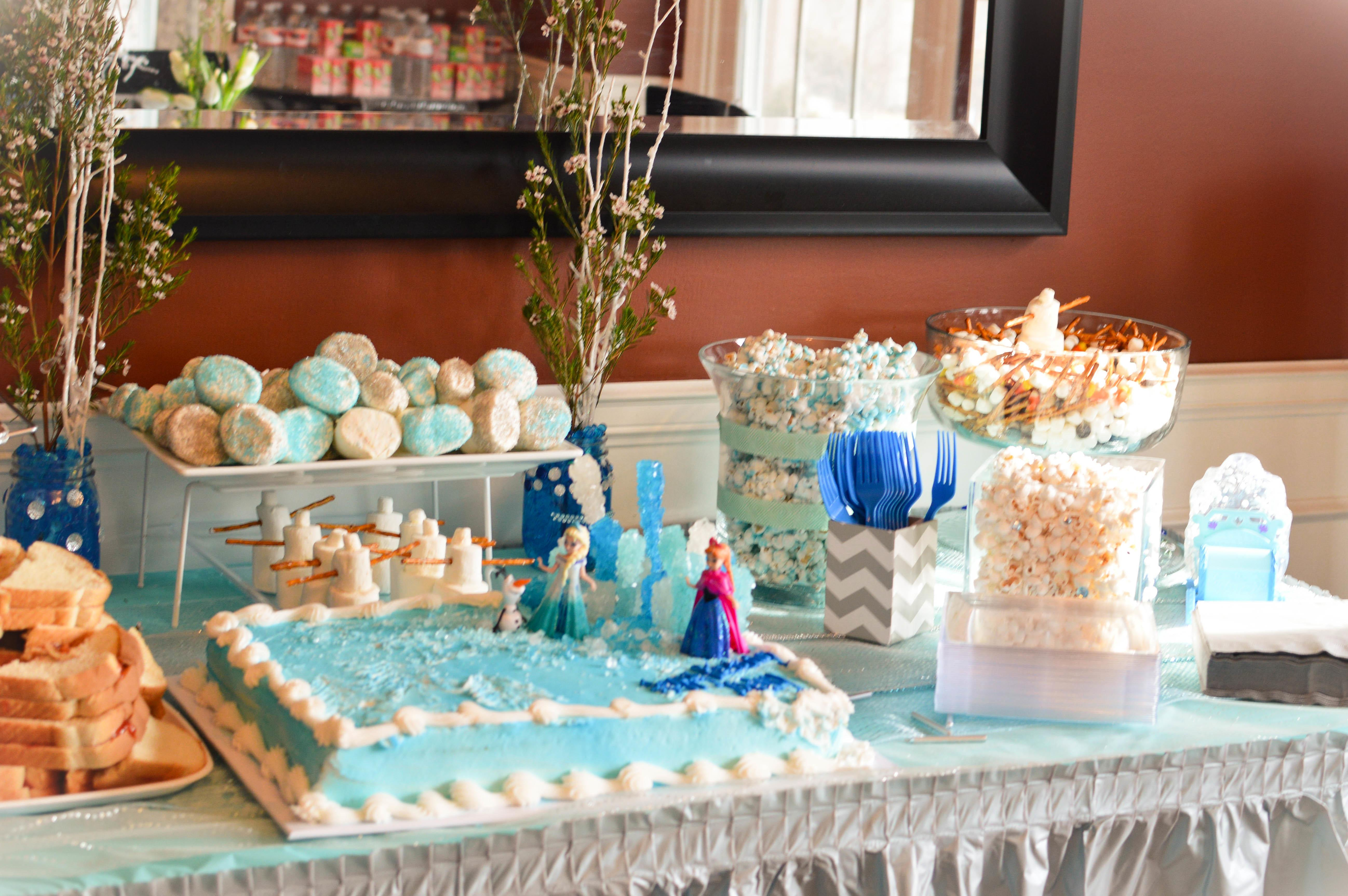 Happy Birthday Abby Frozen Party Ourlittlelifestyle