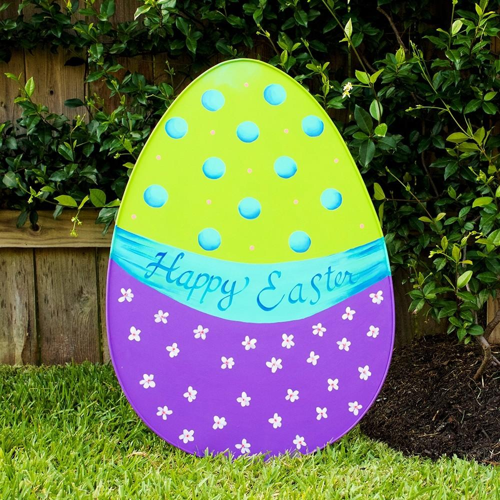 Happy Easter Egg Yard Decoration