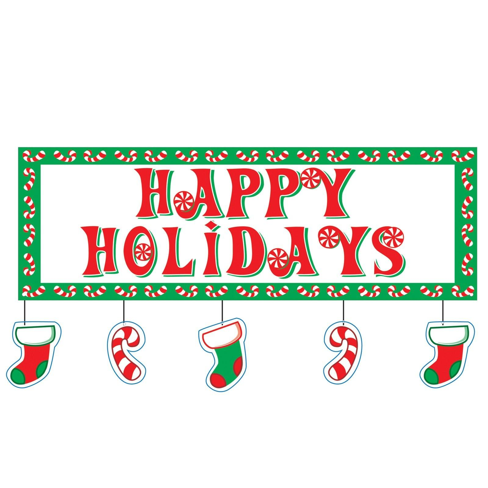 Happy Holidays Banners New Fashion Arrivals Styles
