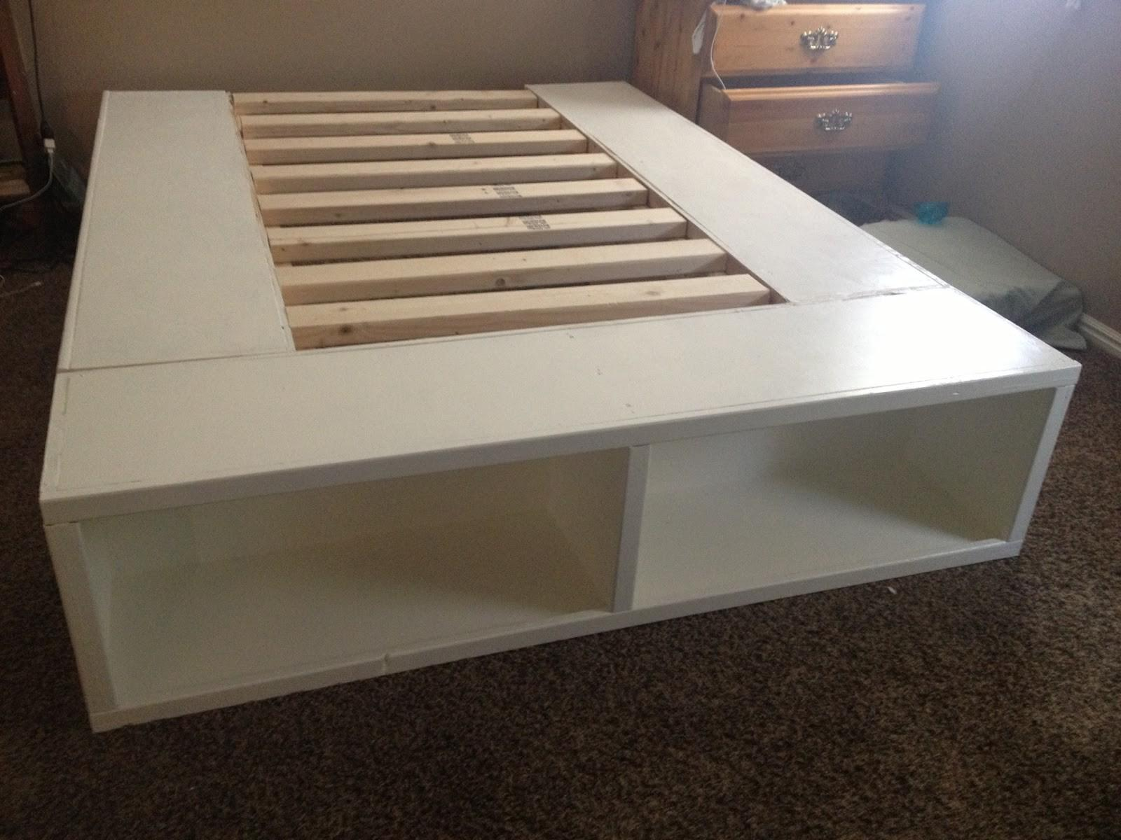 Happy Huntsman Diy Storage Bed
