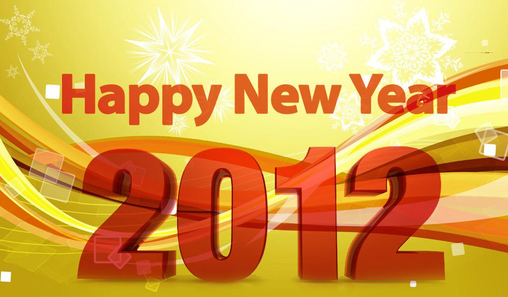 Happy New Year 2012 All Readers Community News