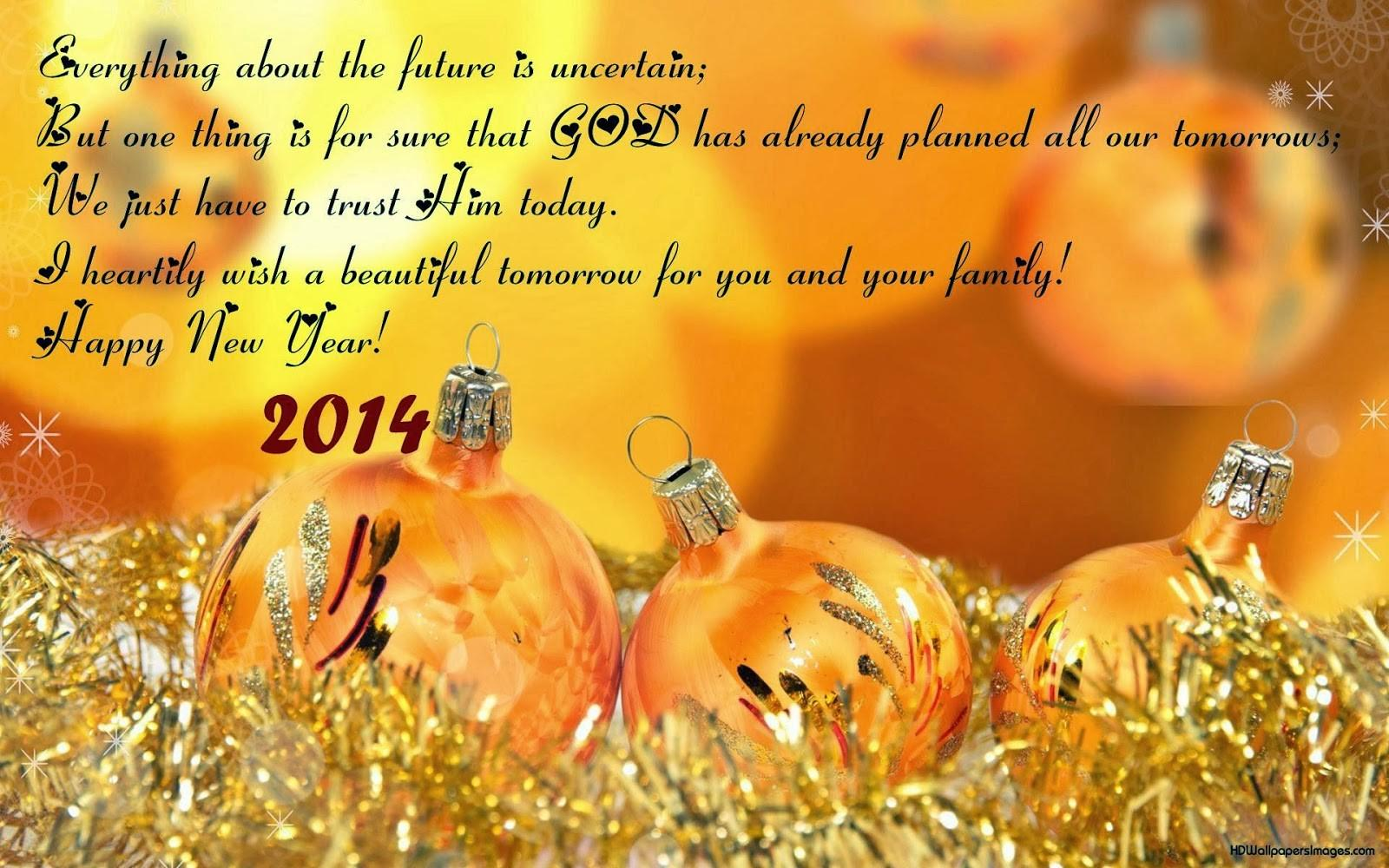 Happy New Year 2014 Greeting Cards Your